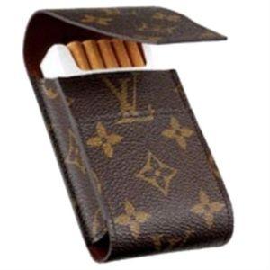 Like-New Louis Vuitton Monogram Cigarette Case/Pouch